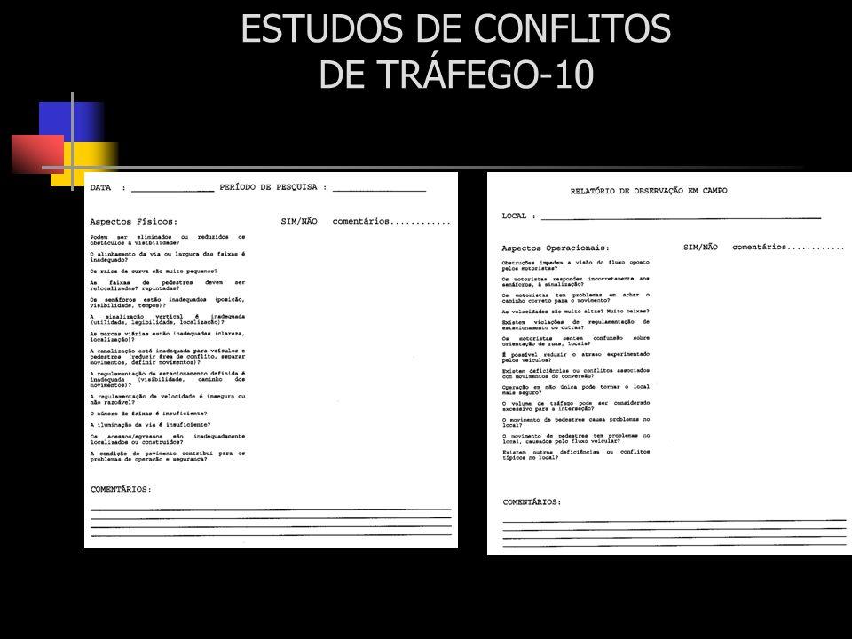 ESTUDOS DE CONFLITOS DE TRÁFEGO-10