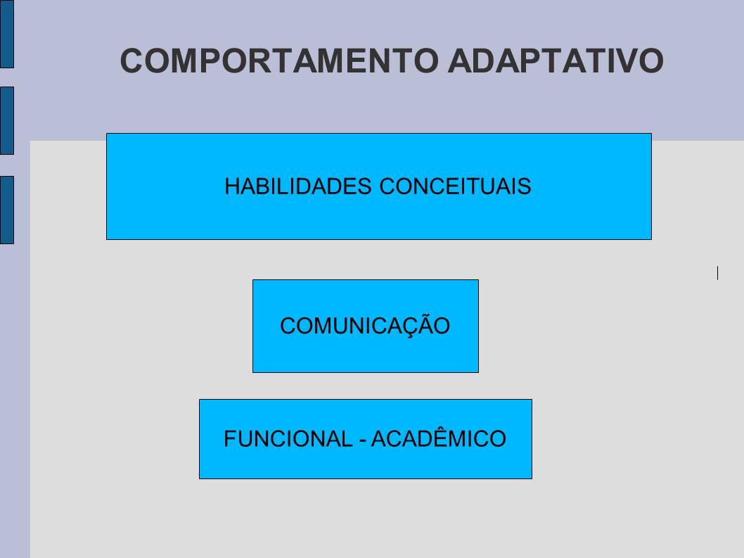 HABILIDADES CONCEITUAIS COMUNICAÇÃO FUNCIONAL - ACADÊMICO
