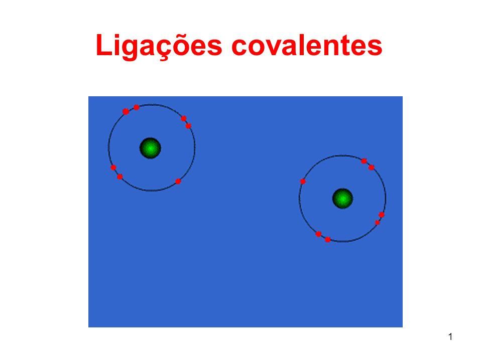 1 Ligações covalentes