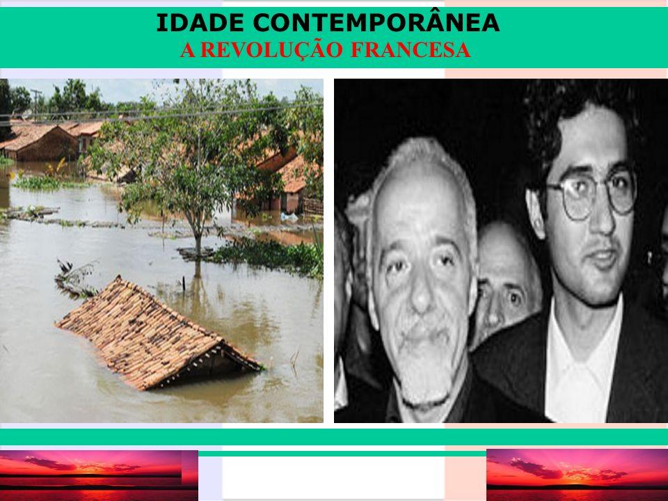 IDADE CONTEMPORÂNEA Prof.Iair iair@pop.com.br A REVOLUÇÃO FRANCESA Revolução burguesa.