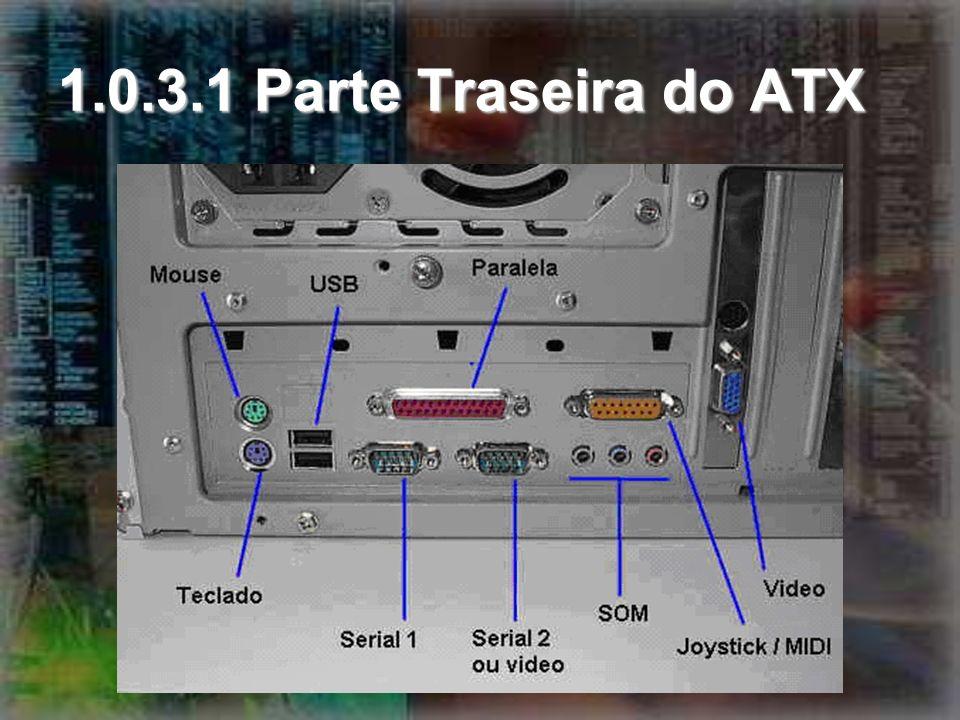 1.0.3.1 Parte Traseira do ATX