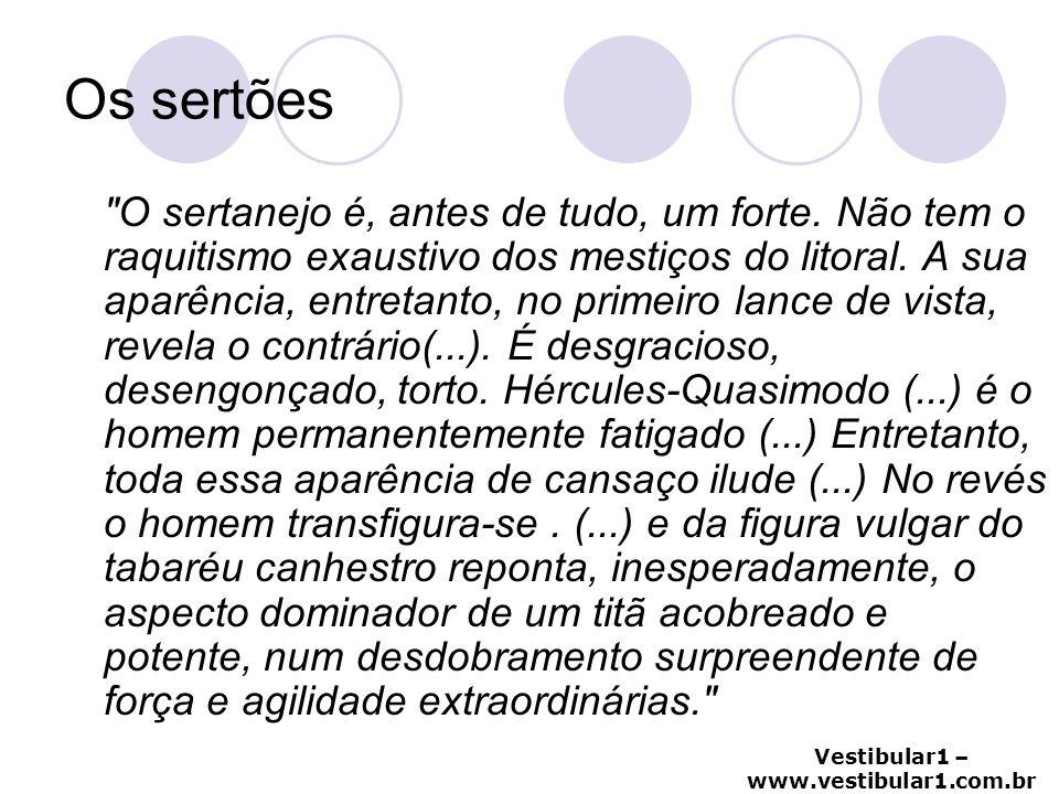 Vestibular1 – www.vestibular1.com.br Os sertões