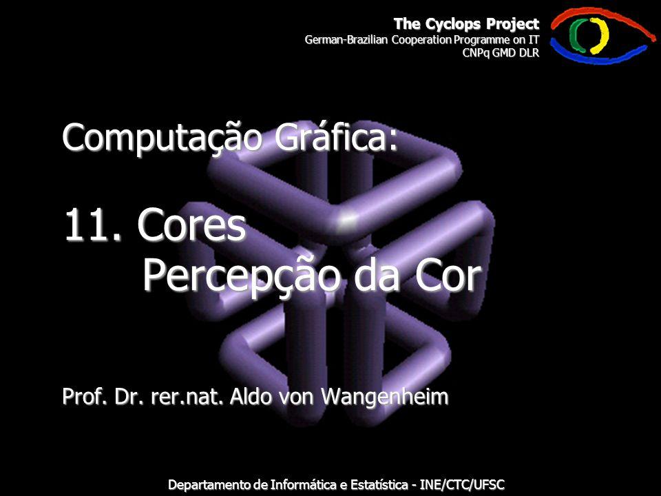 The Cyclops Project German-Brazilian Cooperation Programme on IT CNPq GMD DLR Departamento de Informática e Estatística - INE/CTC/UFSC Computação Gráfica: 11.