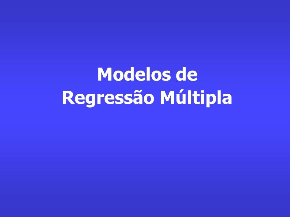 Modelos de Regressão Múltipla
