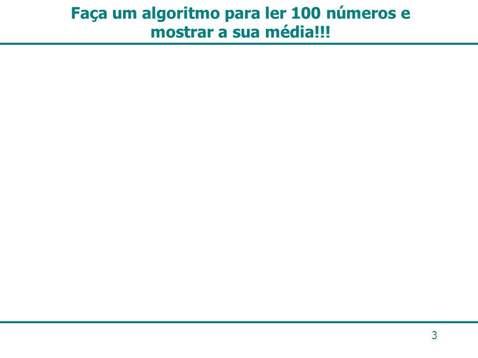 Exercício Faça um algoritmo para informar se um número lido é primo ou não.