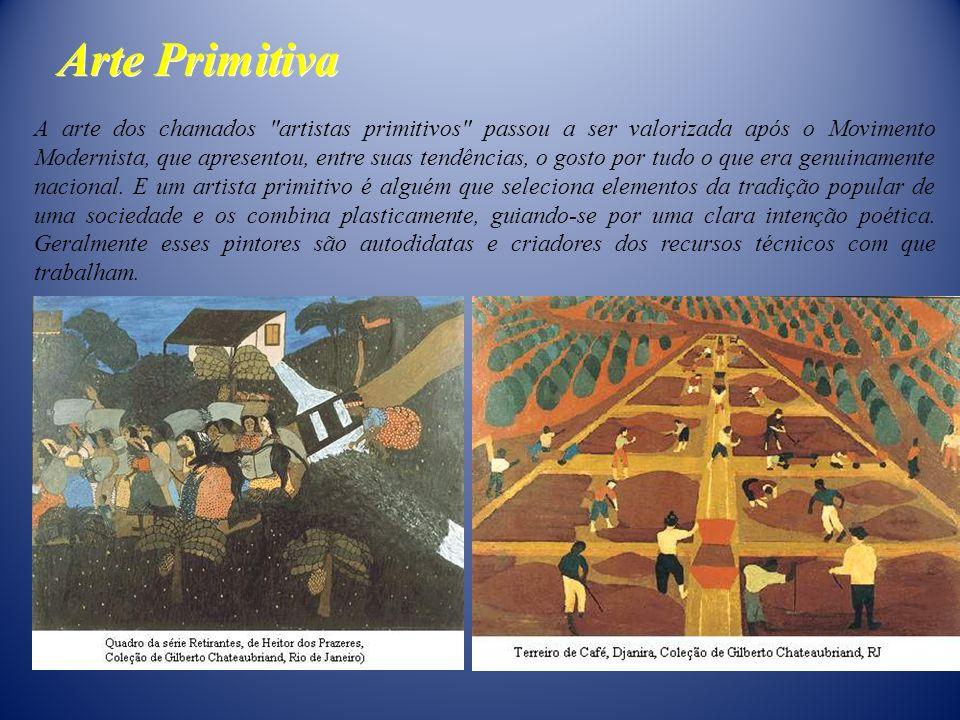 Arte Primitiva A arte dos chamados