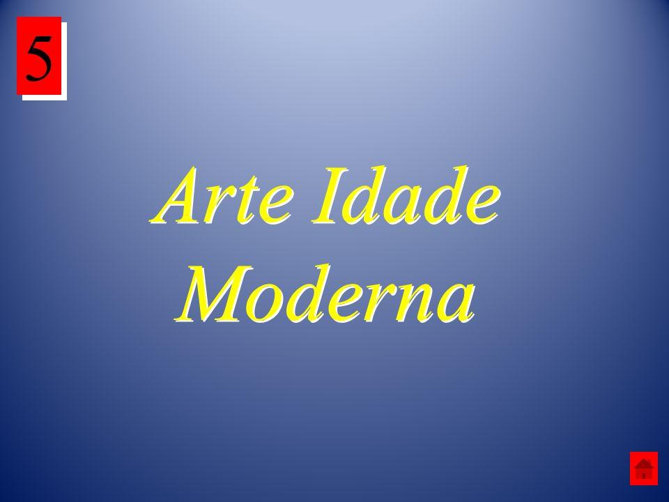 Arte Idade Moderna 5 5