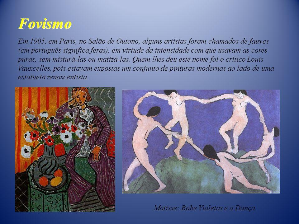 Em 1905, em Paris, no Salão de Outono, alguns artistas foram chamados de fauves (em português significa feras), em virtude da intensidade com que usav