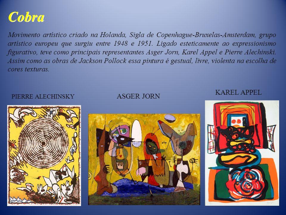 Movimento artístico criado na Holanda, Sigla de Copenhague-Bruxelas-Amsterdam, grupo artístico europeu que surgiu entre 1948 e 1951. Ligado esteticame
