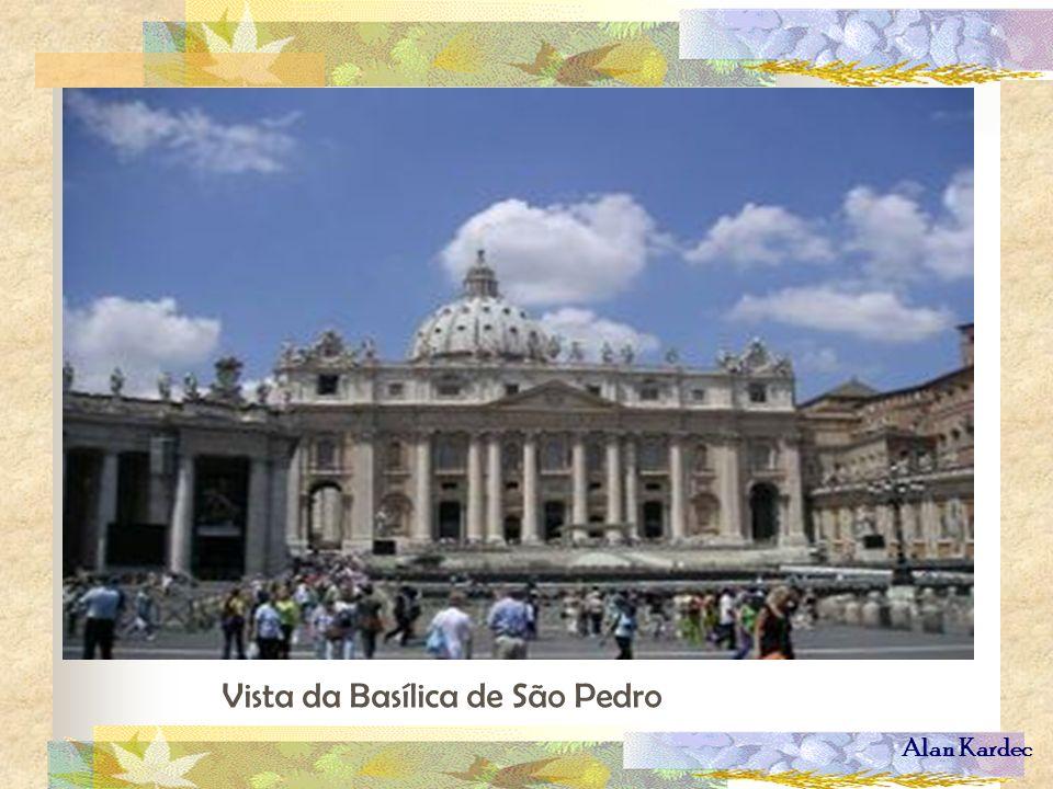 Alan Kardec Vista da Basílica de São Pedro