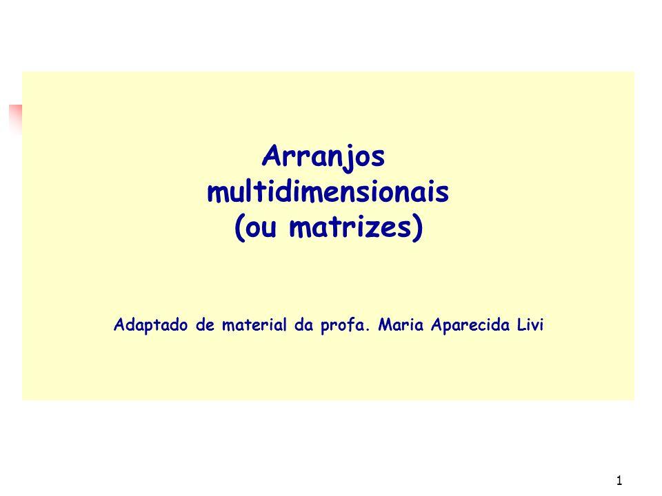 7.5 9.5 matriz 2 1 2 3 4 5 6 12345671234567 notas alunos nota Nota[4,2] Nota[6,3 ]