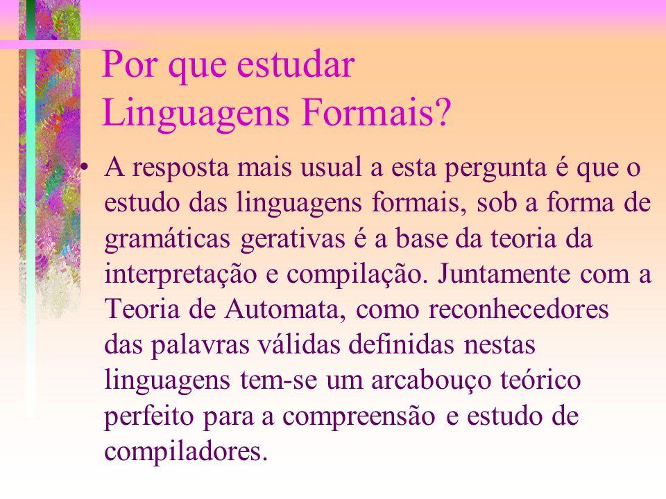 Linguagens Formais Jorge Muniz Barreto UFSC-INE 2000