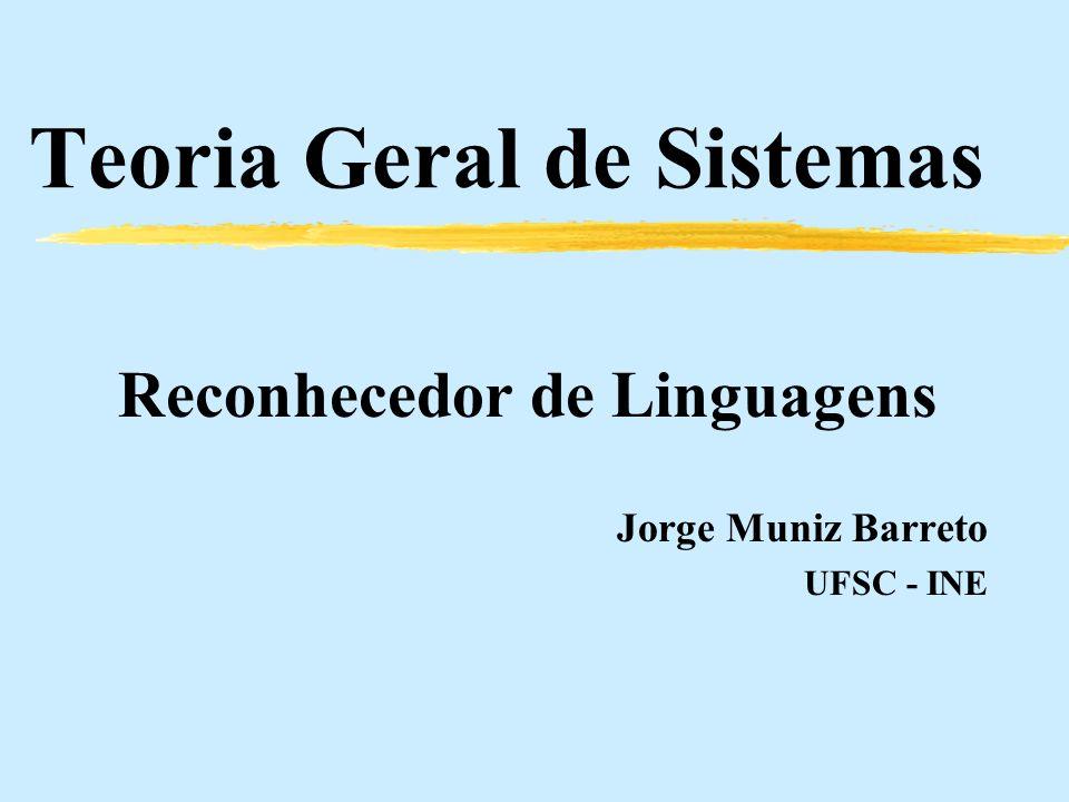 Jorge M. Barreto UFSC-INE Conceitos Básicos de Sistemas Sistema Complexo S c Um sistema é dito complexo quando é constituído por um conjunto de sistem