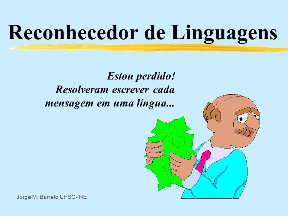 Teoria Geral de Sistemas Reconhecedor de Linguagens Jorge Muniz Barreto UFSC - INE