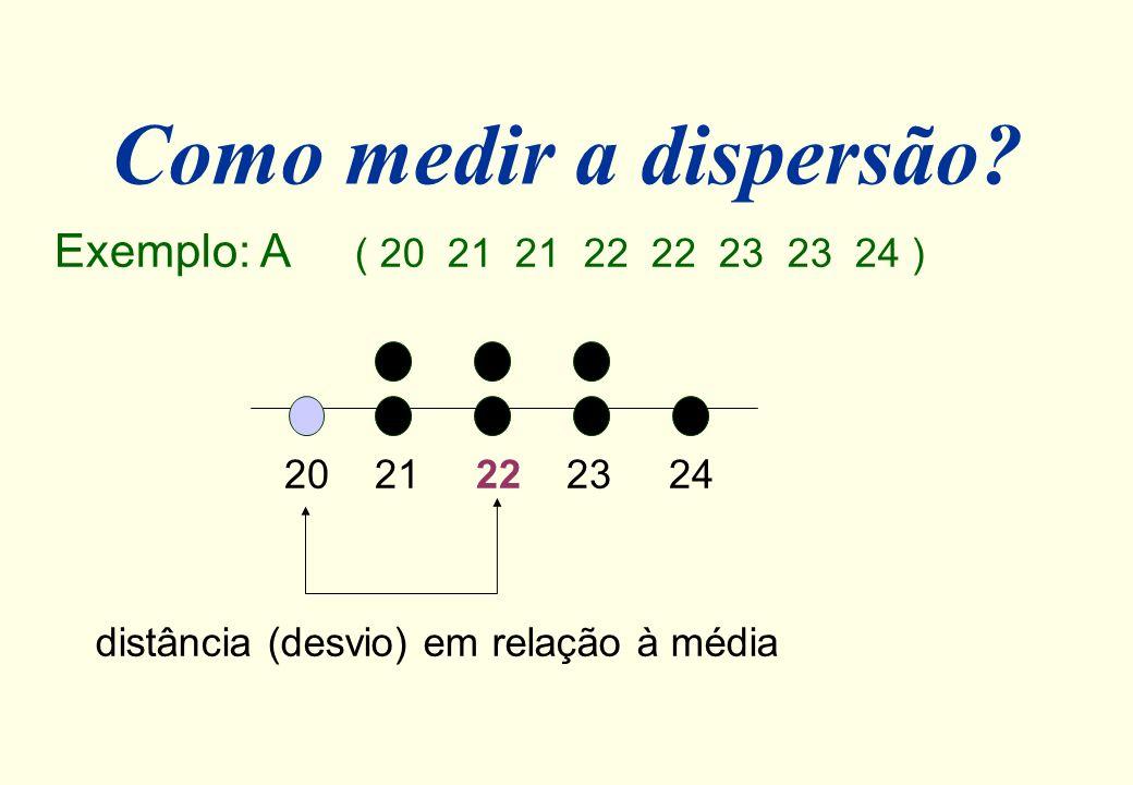 Exemplo Medidas da variável IDADE de funcionários de um empresa: Média aparada: Média winzored:
