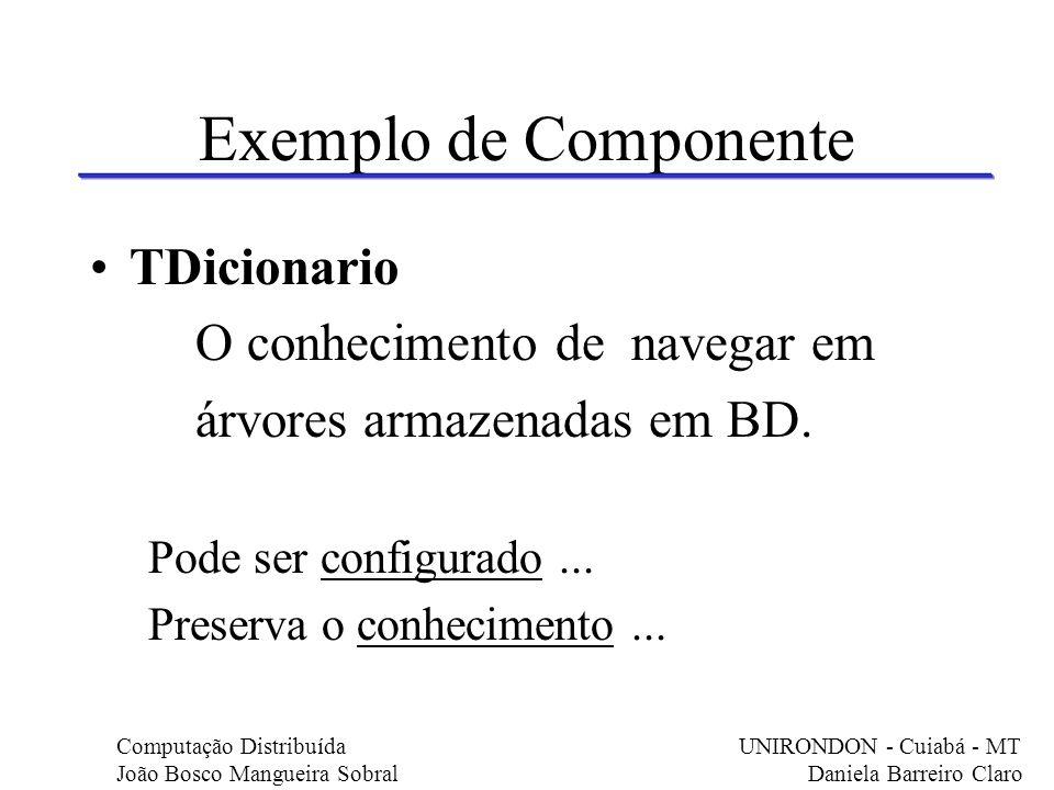 Principais Características Possui documentação que lhe é própria.