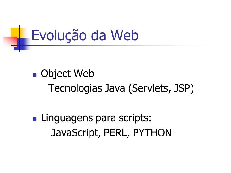 Questões sobre o uso de Web Services Relacionadas à aplicação de Web Services