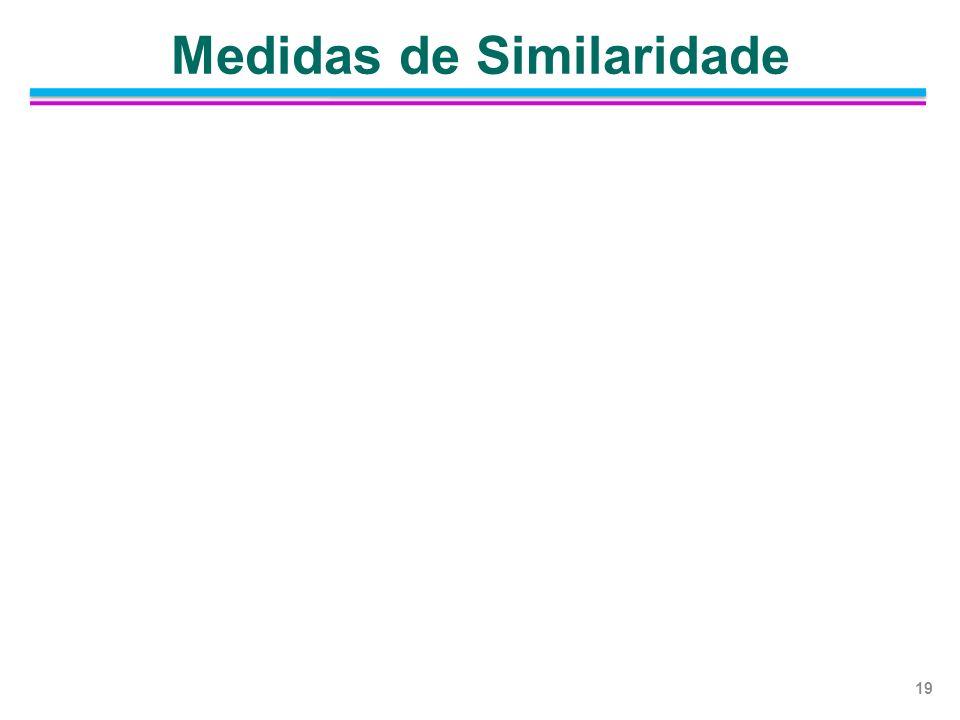 Medidas de Similaridade 19