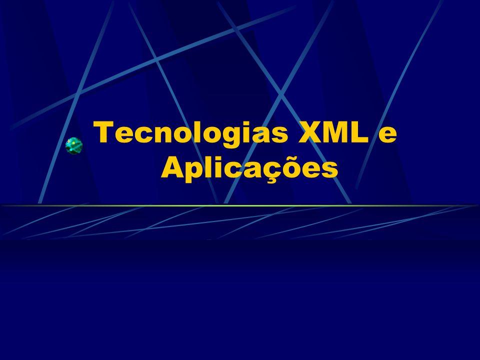 DSML Referências DSML na Web: www.dsml.org é o site oficial do padrão DSML.www.dsml.org www.oasis-open.org/cover/dsml.html Introdução à DSML, links relevantes e artigos.