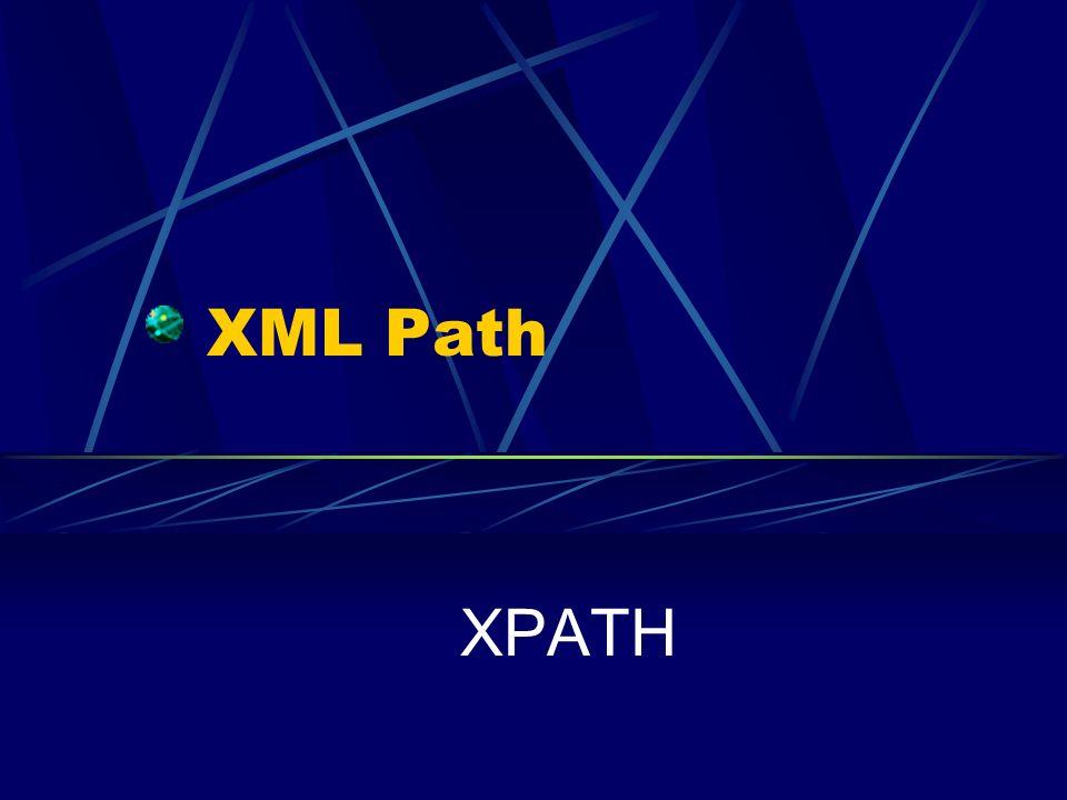 XML Path XPATH