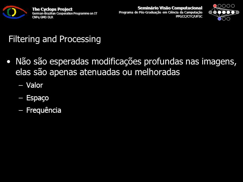 Seminário Visão Computacional Programa de Pós-Graduação em Ciência da Camputação PPGCC/CTC/UFSC The Cyclops Project German-Brazilian Cooperation Programme on IT CNPq GMD DLR Modelo de adequação