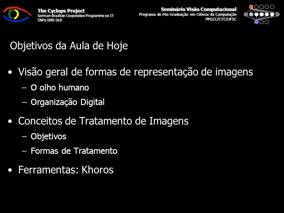 The Cyclops Project German-Brazilian Cooperation Programme on IT CNPq GMD DLR Visão Computacional Prof. Dr. rer.nat. Aldo von Wangenheim
