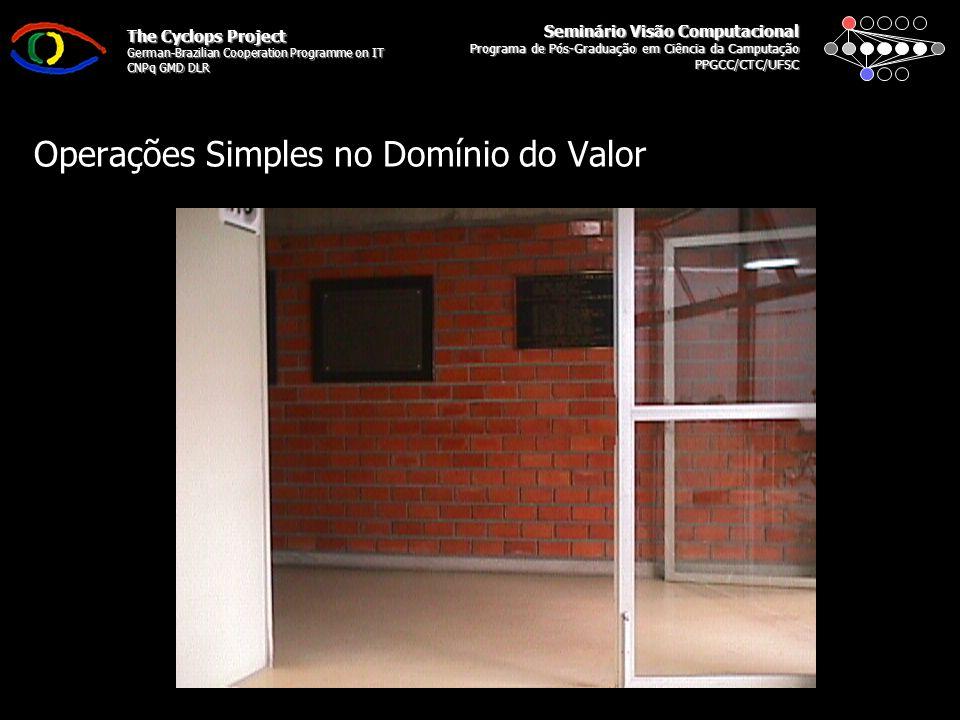 Seminário Visão Computacional Programa de Pós-Graduação em Ciência da Camputação PPGCC/CTC/UFSC The Cyclops Project German-Brazilian Cooperation Progr