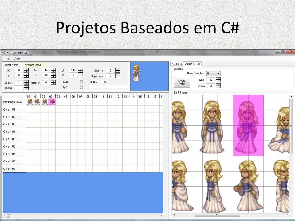 Projetos Baseados em C#