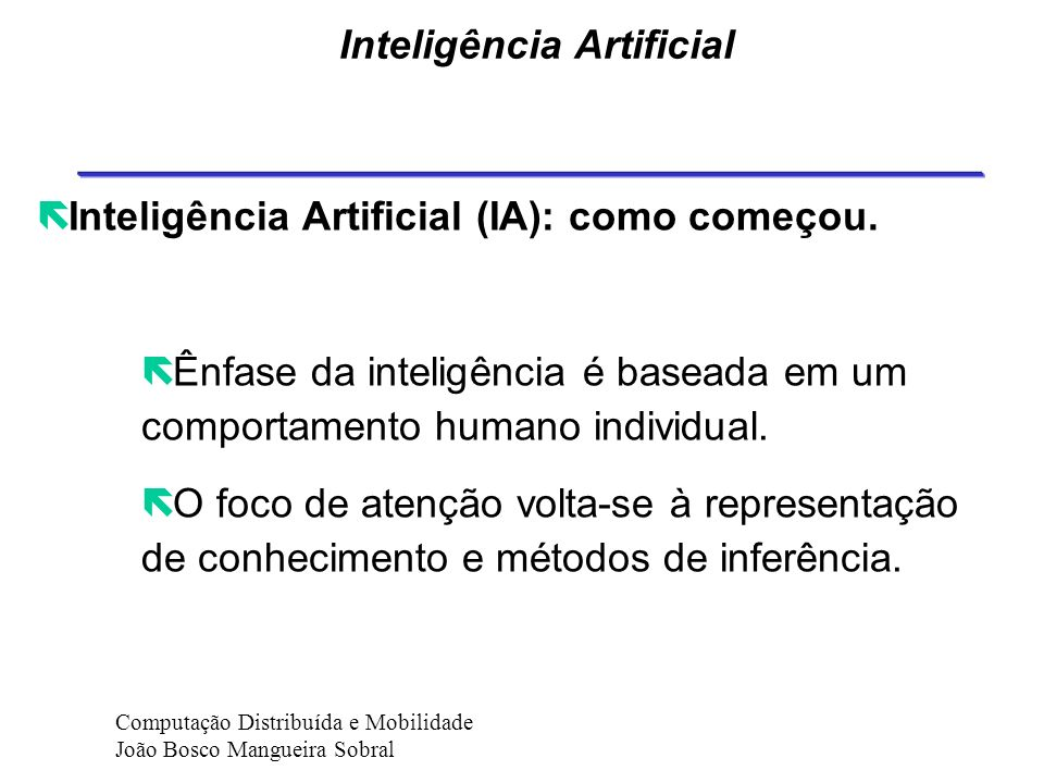Áreas de Influência CHARACTERISTICS Mobility communication c ooperation Autonomy Learning capability Psicholog y Distributed Artificial inteligence Network communication Decision Theory Artificial inteligence character Proactivity Reactivity