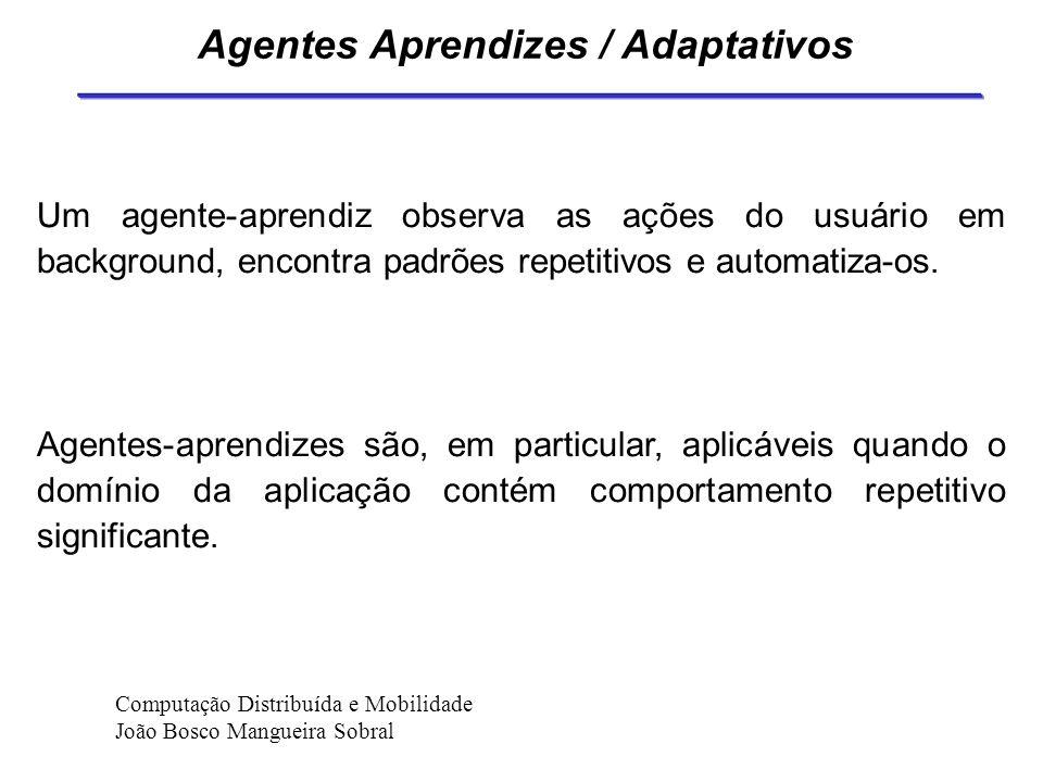 Coordenação de Agentes Coordenação é o ato de gerenciar interdependências entre atividades dos agentes. Pode ser dividida três partes: especificação (