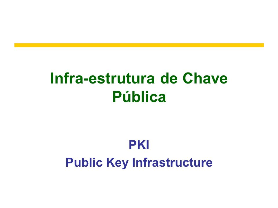 Abril de 2006Infra-estrutura de Chave Pública72 Flat file service operations Read(FileId, i, n) -> Data throws BadPosition If 1 i Length(File): Reads a sequence of up to n items from a file starting at item i and returns it in Data.