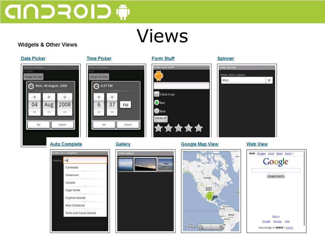 Service Um Service é uma tarefa que é rodada ao fundo, sem bloquear a interação do usuário.