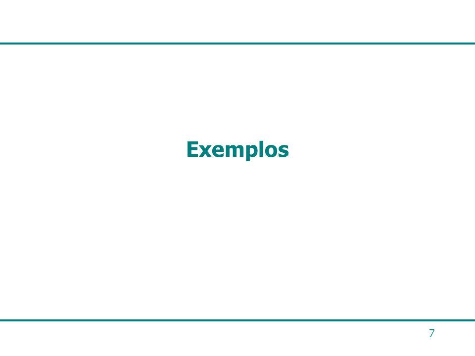 7 Exemplos