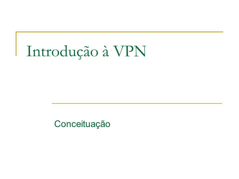 Introdução à VPN Conceituação