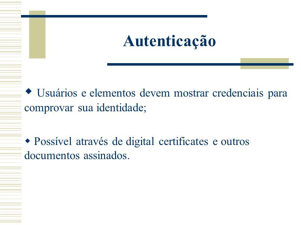Distribuição de certificados; Emissão de assinatura de novos certificados; Renegociação de certificados; Revogação de certificados.