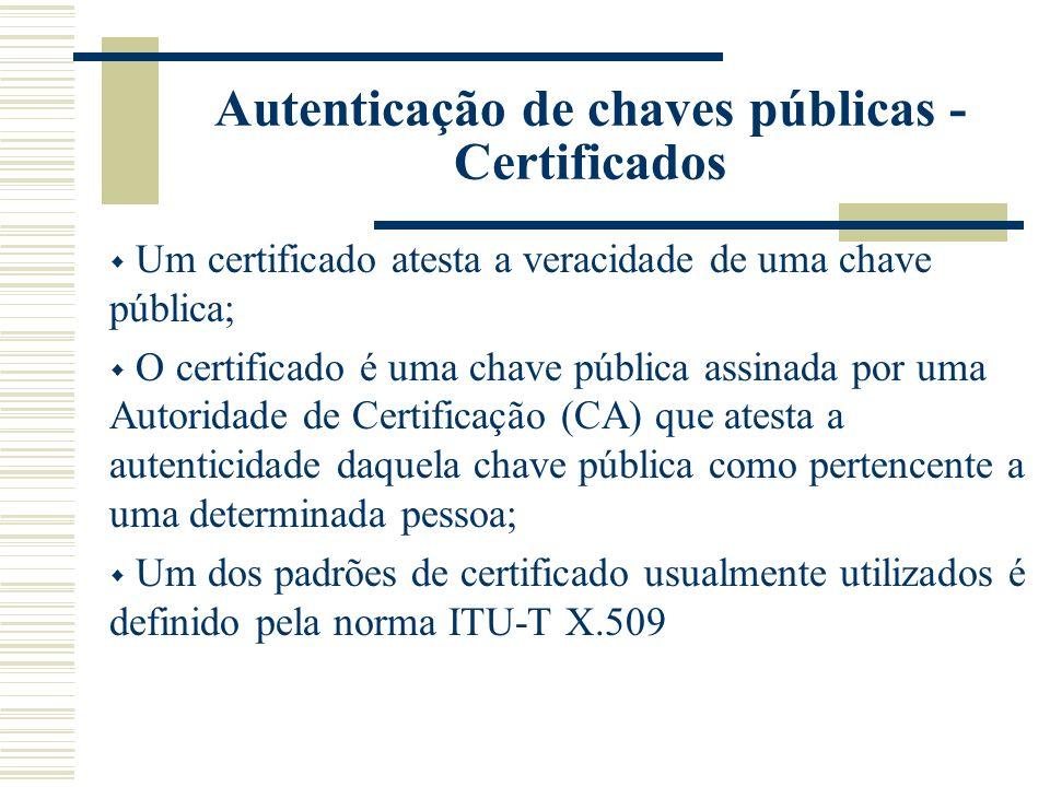 Com o objetivo de estabelecer uma estrutura de certificados, ciclo de vida, disponibilização de informações estruturadas em larga escala levou o órgão ITU-T aos padrões de hierarquia dos protocolos da família X.500.