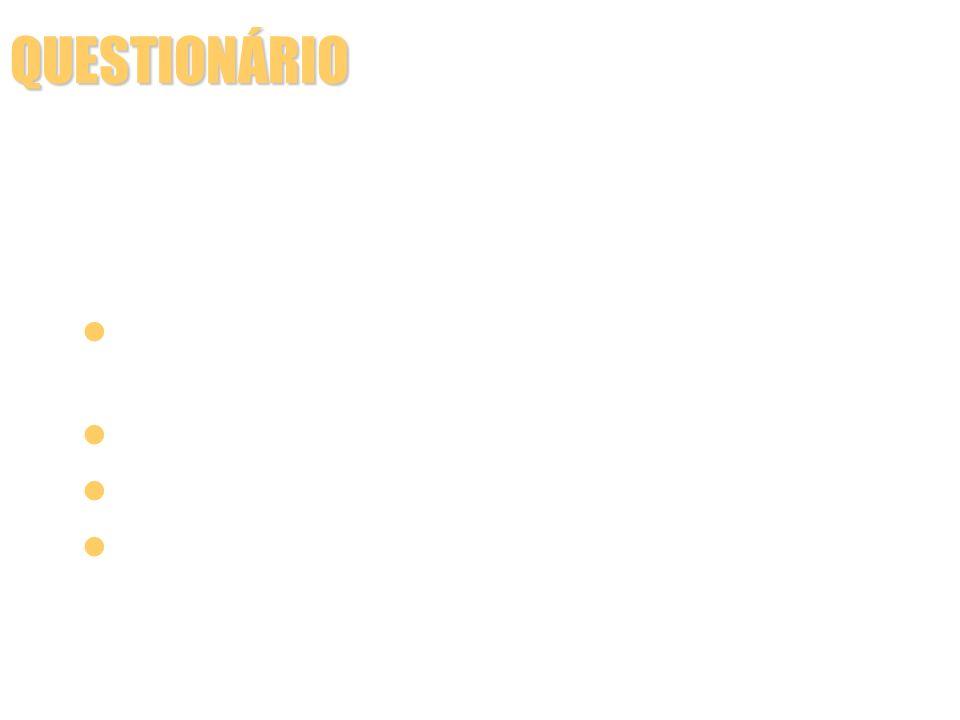 CONSTRUÇÃO DO QUESTIONÁRIO Vantagens das perguntas com respostas fechadas: