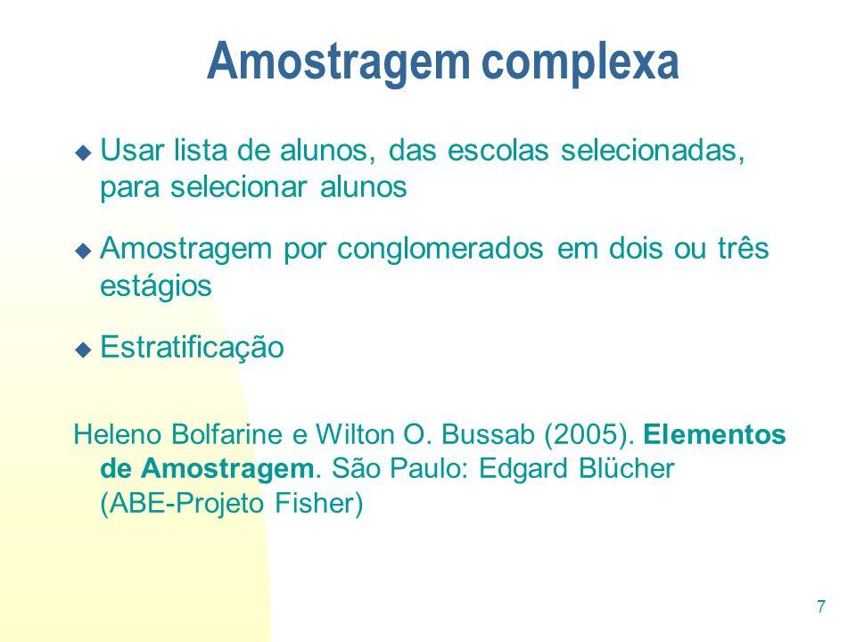 28 Referências bibliográficas ANDRADE, D.F., TAVARES, H.