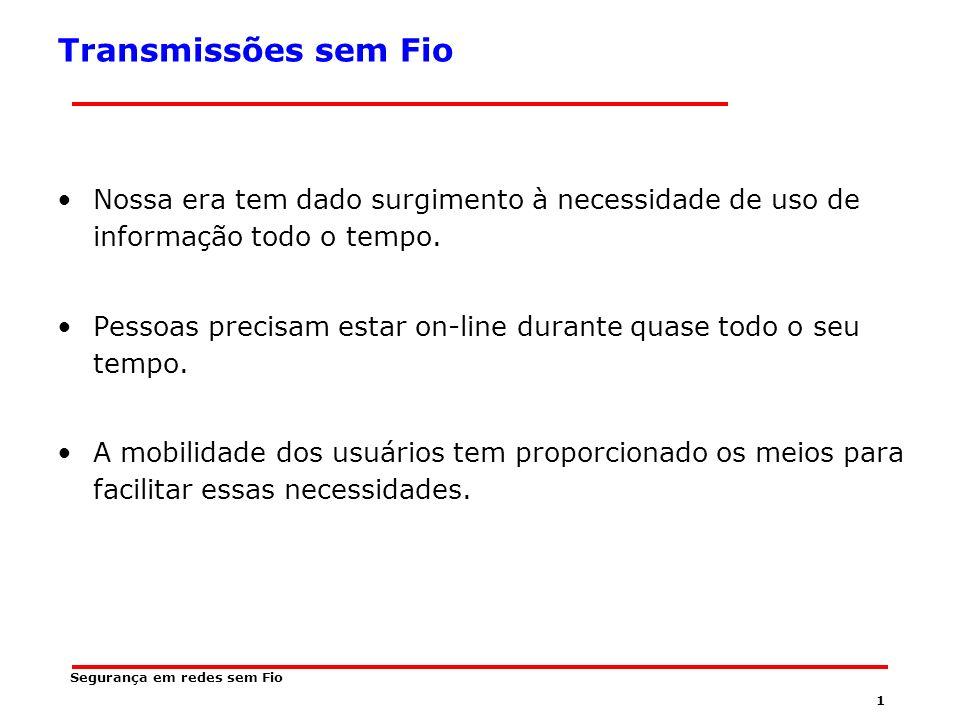 Universidade Federal de Santa Catarina Centro Tecnológico - CTC Departamento de Informática e Estatística - INE Tópicos Especiais em Software Aplicativo II Fundamentos em Redes sem Fio
