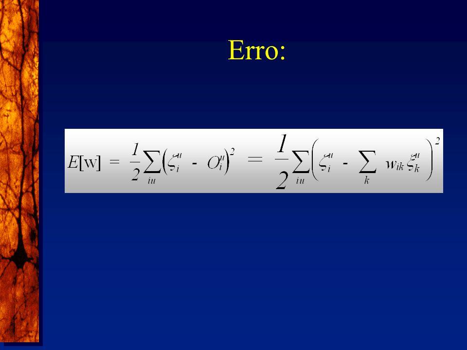 Erro: