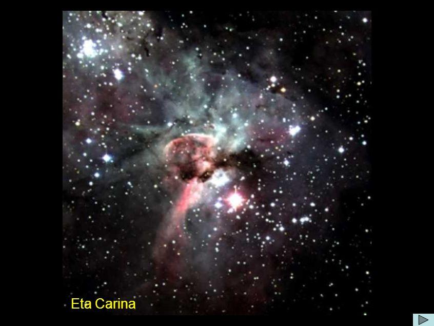 Comentário: As observações têm indicado que eta Carinae passa por eventos de baixa excitação a cada 5 anos e meio.