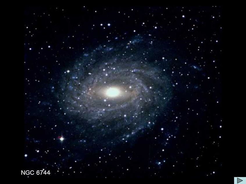 Galáxia NGC 6744 NGC 6744