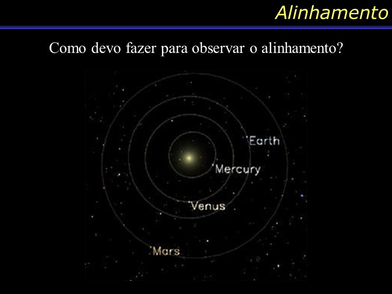 Conteúdo: Conjunção Uma outra denominação que podemos dar para o nome de conjunção é quando temos uma aparição de dois objetos celestes próximos com uma distância angular de aprox.