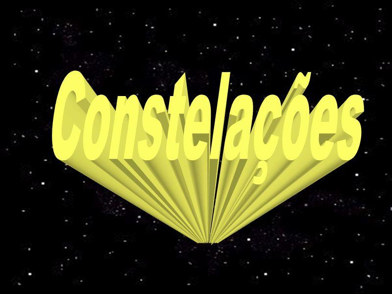 A noção de constelação nos dias de hoje é um pouco diferente.