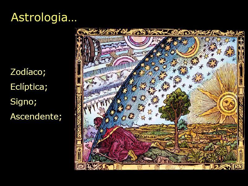 Astrologia… Zodíaco; Eclíptica; Signo; Ascendente;