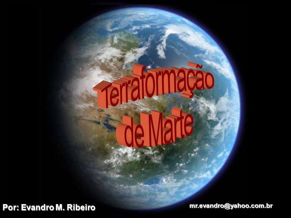 Pressurização A pressão atmosférica é o elemento mais importante para a terraformação completa de Marte, pois sem o aumento da pressão, o sangue humano iria literalmente ferver à temperatura ambiente.