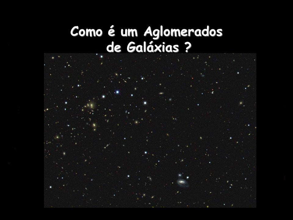Como é um Aglomerados de Galáxias ?