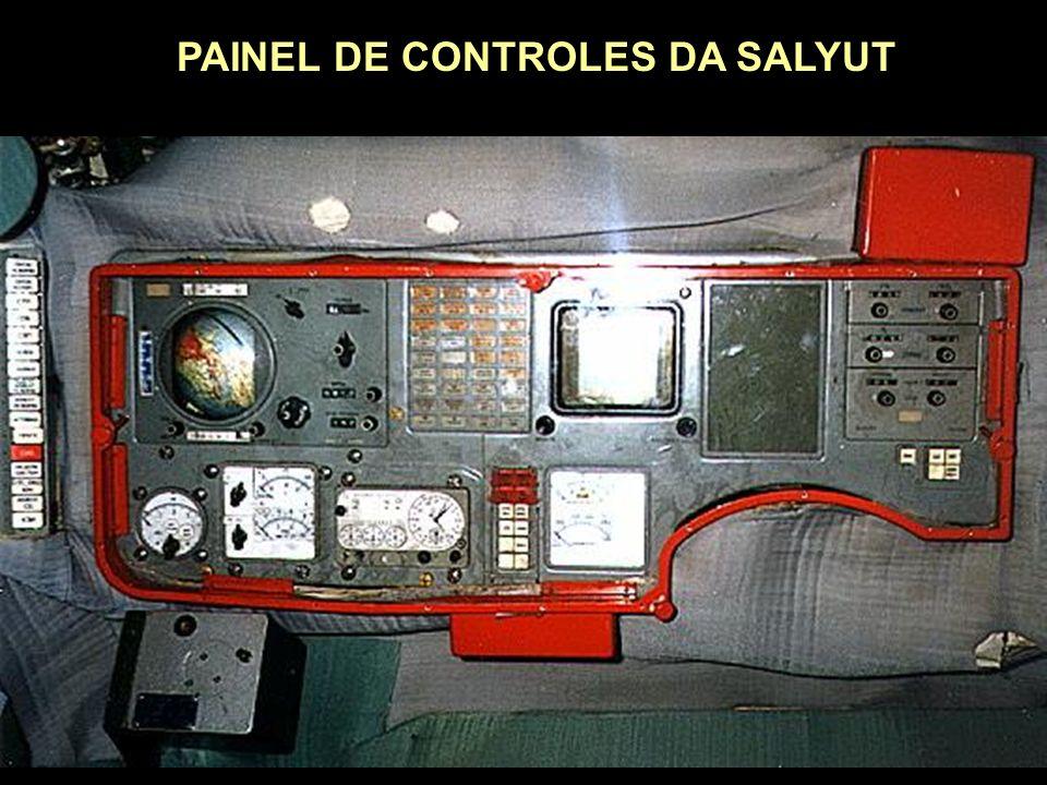 PAINEL DE CONTROLES DA SALYUT