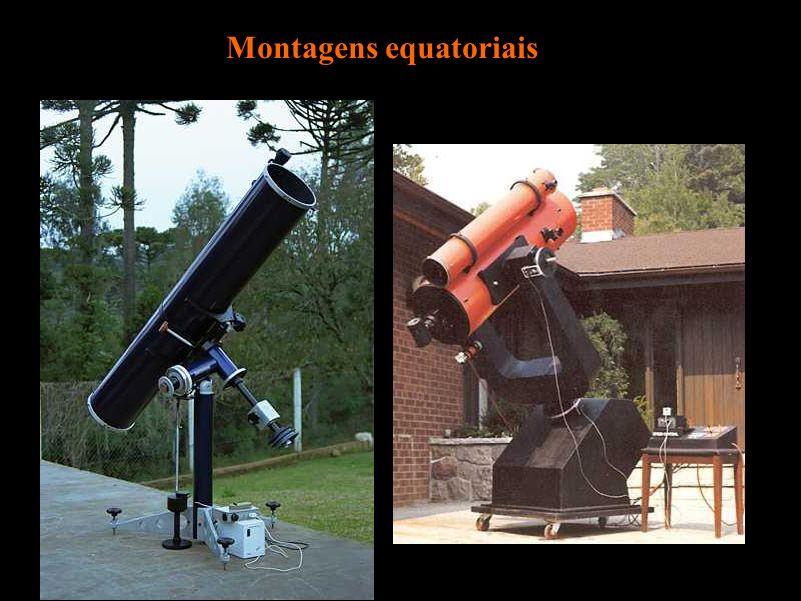 Montagens equatoriais