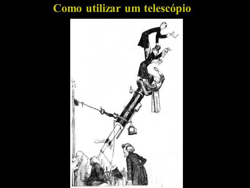 Sol Como utilizar um telescópio